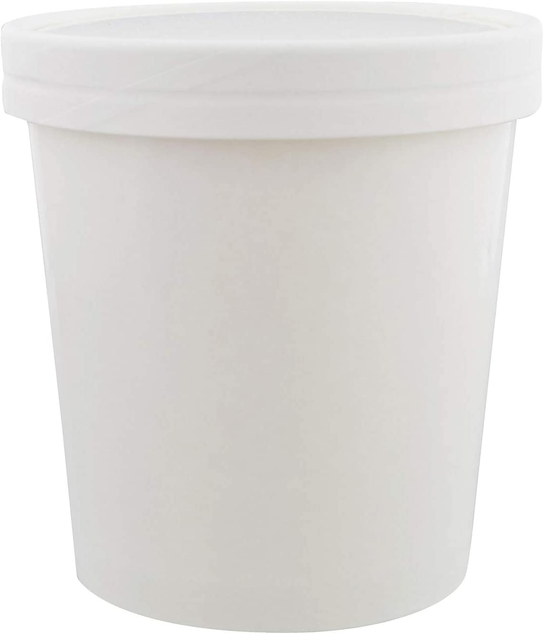 Special T Ice Cream Tubs with Lids – 16 Ounce Ice Cream Containers, Homemade Ice Cream Storage Containers, 25 Pack