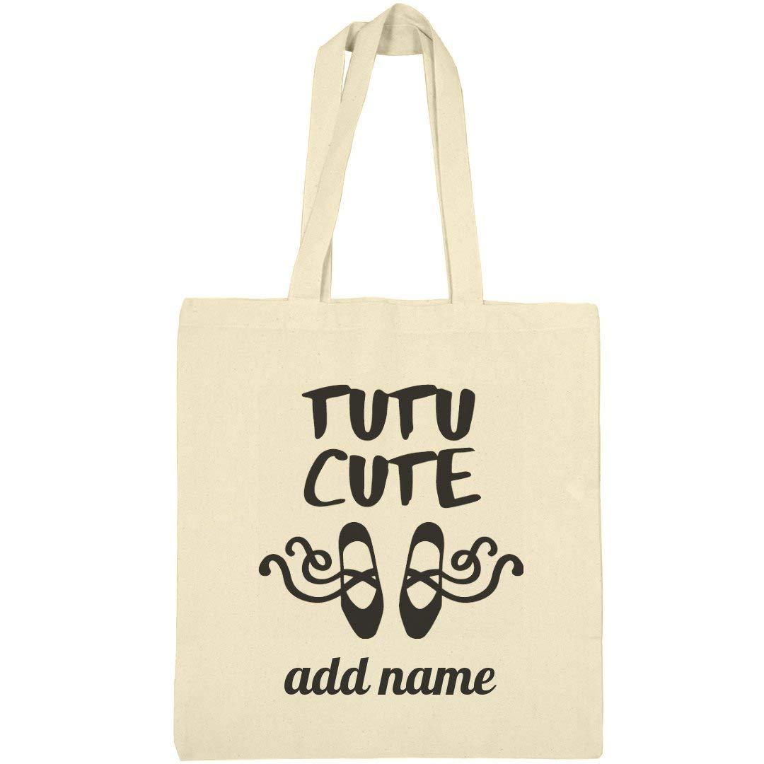 Little Girl Ballerina Custom Dance: Canvas Bargain Tote Bag