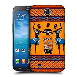 Head Case Designs African Ethnic Dances Protective Snap-on Hard Back Case Cover for Samsung Galaxy Mega 6.3 I9200 I9205 by Maris's Diary