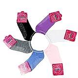 Heth 6 Pairs Pilates Socks Ballet Socks Barre Sock Grip Socks for Women Non Slip Socks for Women Athletic Socks Yoga Gifts For Sale
