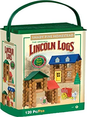 Lincoln Logs Shady Pine Homestead 120 Pc | Computers