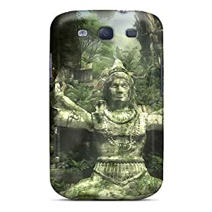 Wilsongoods66 Scratch-free Phone Cases For Galaxy S3- Retail Packaging - Tomb Raider Underworld Games