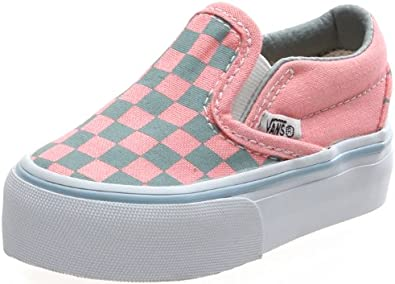 Vans , Baskets Mode pour Fille - Gris - Gris, Toddler 3.5 ...