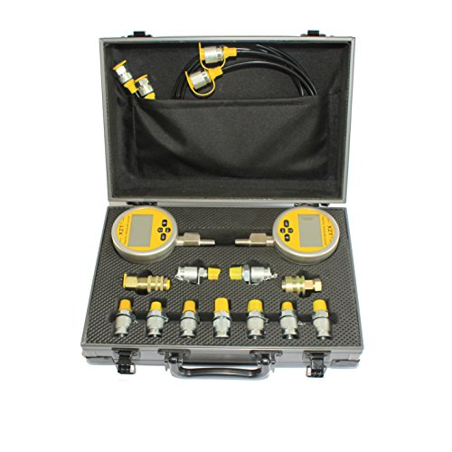XZT 70M Digital Hydraulic Pressure Test Coupling Kit for Caterpillar Komatsu Excavator Construction Machinery
