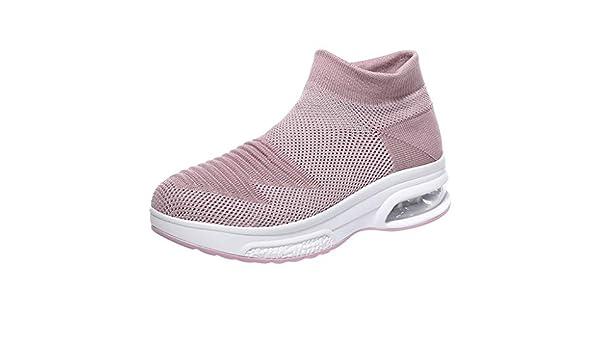 AG&T Zapatos Deporte Mujer Zapatillas Deportivas Correr Gimnasio ...