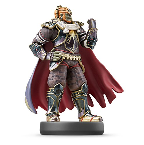 Figura de Amiibo Super Smash Bros. Ganondorf para Nintendo Wii U /3DS