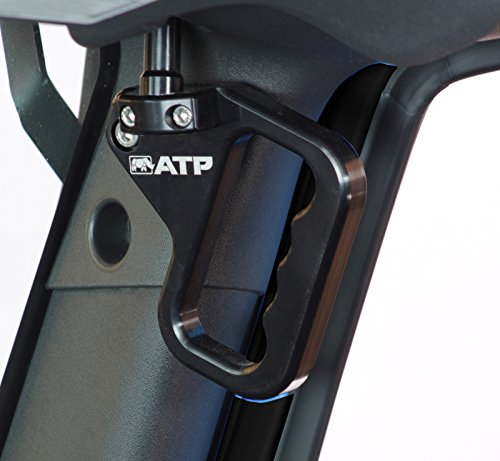 ATP 36070013K Billet Front Grab Handles Black Jeep Wrangler JK ()