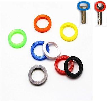 8 Pcs Schlüsselkappen Anhänger Gummi Schlüssel Identifier.uYLu.uYLu#@L