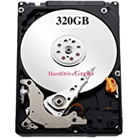 320GB 2.5 Hard Drive for HP / Compaq G Notebook PC G72-b62US G72-b63NR G72-b66US G72-b67CA G72-b67US G72-c55DX G72t-200 G72t-b00