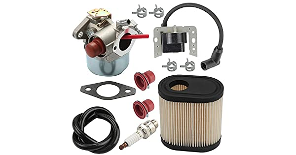 Amazon.com: Harbot LV195EA 640350 Carburador + 34443D 34443A ...