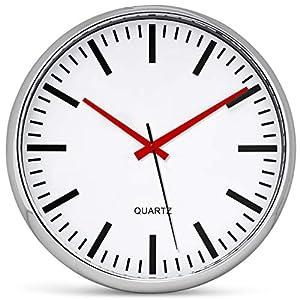 Bernhard Products Metallic Wall Clock