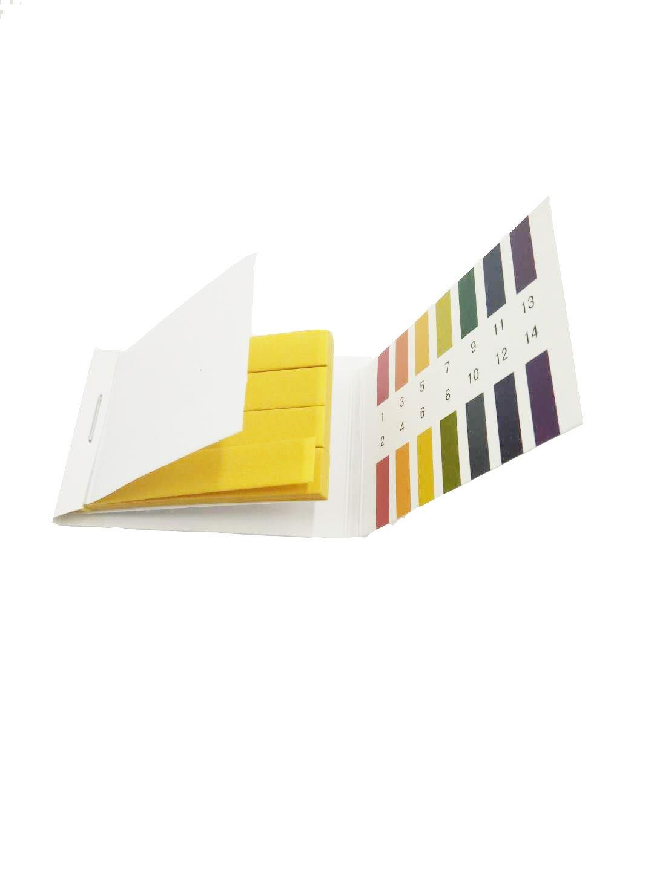 pH Test Strips(pH 1-14), 4 packs 320PCS Test Paper Litmus Strips Tester for Soil Testing Universal Application Muhwa eCommerce Co. Ltd