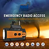 Weather Radio - Emergency Radio NOAA - Hand Crank