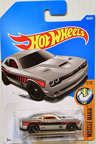 Hot Wheels Muscle Challenger Silver product image