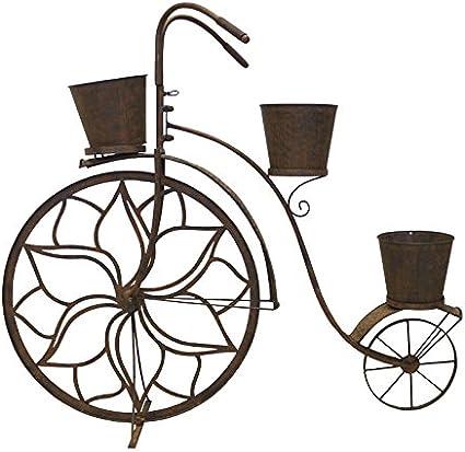 Keyhome - Macetero de Hierro para Flores, decoración de jardín ...
