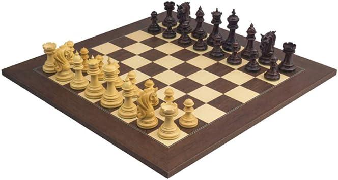 The Regency Chess Company El Grande Kingsgate Hotel Palisandro Palisander Ajedrez Juego con 10.8cm Rey: Amazon.es: Juguetes y juegos