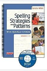 Spelling Strategies and Patterns Spiral-bound