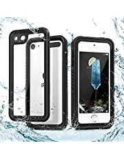 Waterproof Case for iPod Touch 7/6/ 5, IDweel iPod 7 Case Shockproof Dirt-Proof Snow-Proof Cover and Screen Protector for Apple iPod Touch 7th / 6th /5th Generation,Black