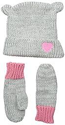 Osh Kosh Baby-Girls Critter Set, Grey, 12-24 Months