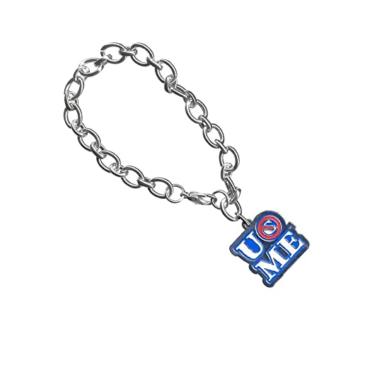 Amazon wwe john cena you cant see me charm bracelet jewelry wwe john cena you cant see me charm bracelet mozeypictures Gallery