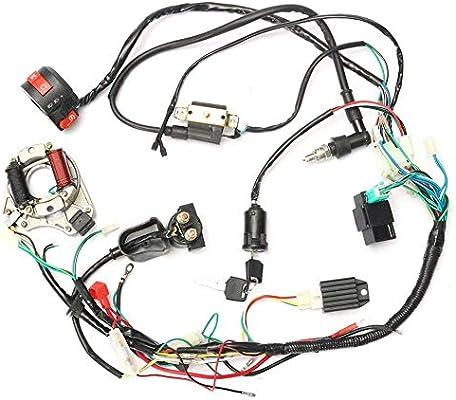 Guajave CDI Arnés de Cables Kit Cableado Set para 50cc-125cc China ...