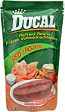 Ducal Refried Red Beans Pouch, 8 Ounce (Pack of 24)