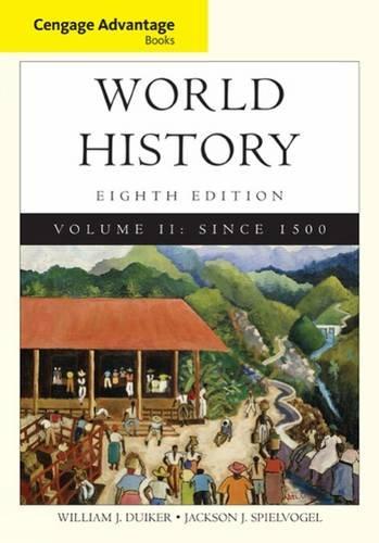 World History,V.Ii Cengage Advantage