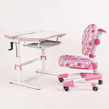 Uberlegen Höhenverstellbarer Kinderschreibtisch Set Ergonomischer Kinderarbeitstisch  Und Stuhl  Studio Deluxe Funktioneller Schulschreibtisch Mit Stuhl Kippbarer