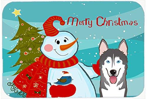 English Springer Spaniel Snowman Christmas Mouse Pad Hot Pad or Trivet