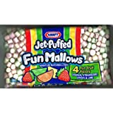 Kraft Jet-Puffed Fun Mallows Fruit Flavors 10.5 Ounce (Pack of 3)
