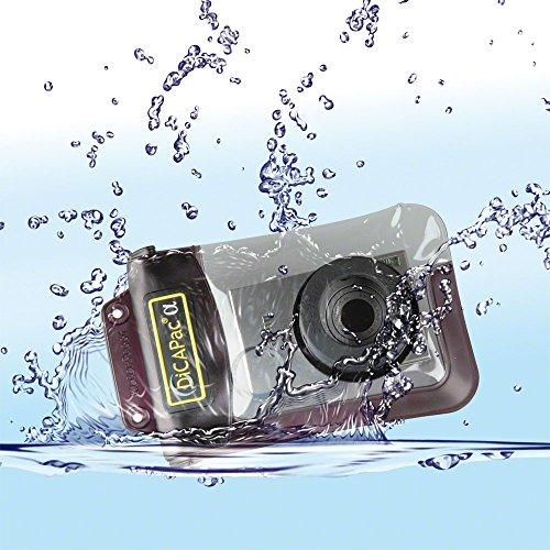 (DicaPac WP510 185x118  mm Large Alfa Waterproof Digital Camera Case with Optical Lens (Clear))