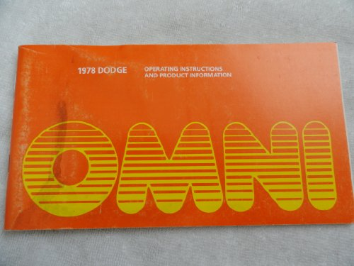 1978 Dodge Omni Owners Manual ()