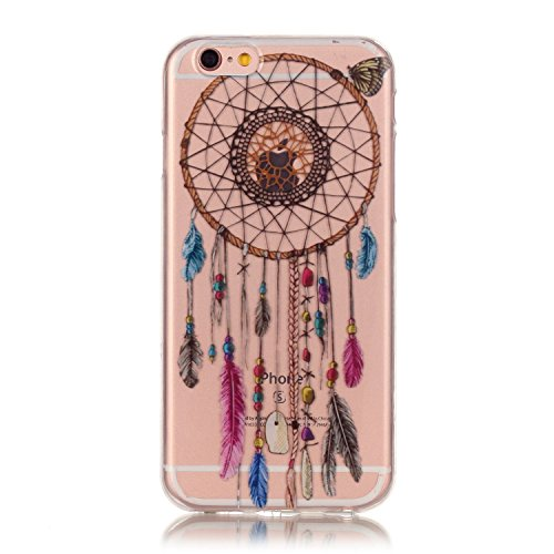 iPhone 7 Plus Case, Firefish [Bumper] Case Anti-Slip Shockproof Scratch-Resistant Ultra Slim Durable Soft Flexible TPU Gel Case for Apple iPhone 7 Plus - Dreamcatcher