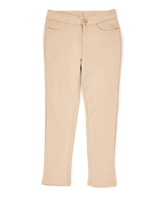 Amazoncom Igirldress Girls Premium Stretch School Uniform Pants