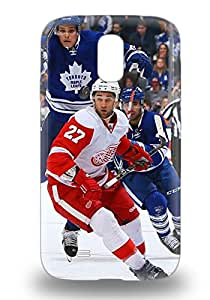 For Galaxy S4 Tpu Phone Case Cover NHL Detroit Red Wings Kyle Quincey #27 ( Custom Picture iPhone 6, iPhone 6 PLUS, iPhone 5, iPhone 5S, iPhone 5C, iPhone 4, iPhone 4S,Galaxy S6,Galaxy S5,Galaxy S4,Galaxy S3,Note 3,iPad Mini-Mini 2,iPad Air )