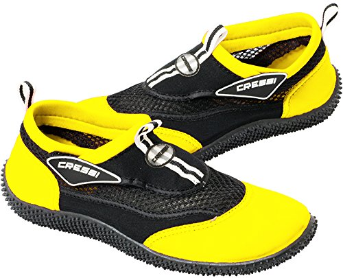 Cressi Shoes Yellow Black Premium Aqua Reef Beach PvrPHfq