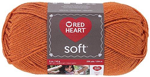 Red Heart Soft Yarn, Tangerine ()