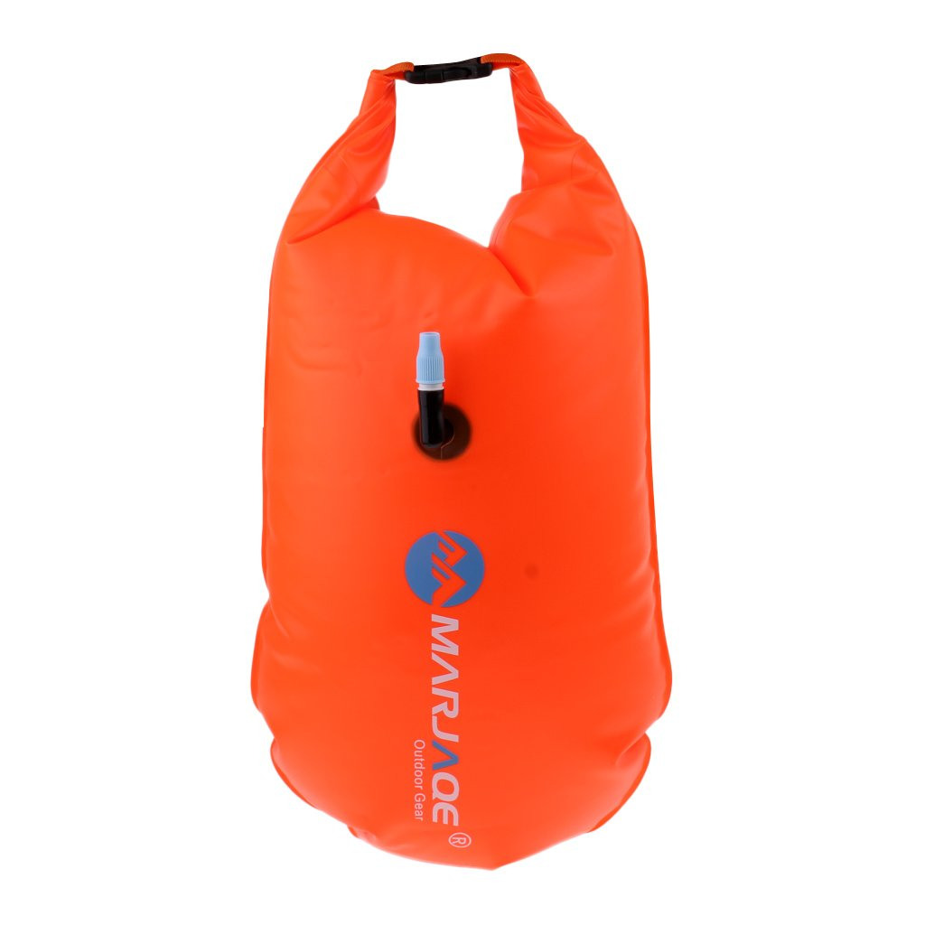 Baosity Inflatable Swim Safety Tow Float Dry Bag Sack Orange + Anti-water Phone Case Cover for Water Sports by Baosity (Image #9)