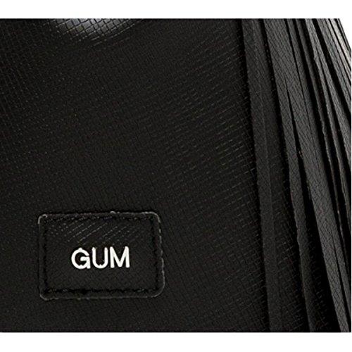 GUM Gianni Chiarini Design GUM GIANNI CHIARINI | BORSA SINTETICO | BS 3700T/18PE GUM FR_NERO