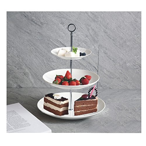 Lace 2 Tiered Serving Tray - 3