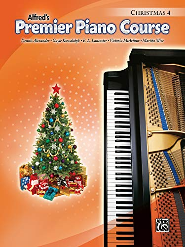 Premier Piano Course Christmas, Bk 4 (Away In A Manger Piano Sheet Music)