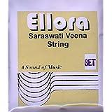 Saraswati Veena Strings, Ellora, Professional, Complete set of strings.