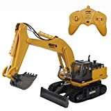 CR 11 Channel 2.4G Full Functional Remote Control Crawler Excavator Steel Trencher Vehicle