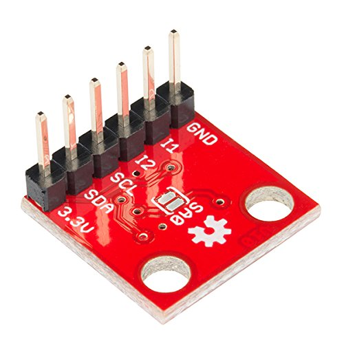 SparkFun Triple Axis Accelerometer Breakout - MMA8452Q (with Headers) by Electronics123.com, Inc. (Image #2)