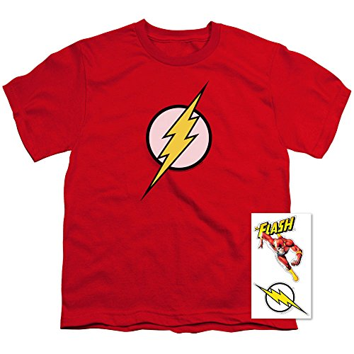 Youth Flash Lightning Bolt Logo T Shirt for Boys -