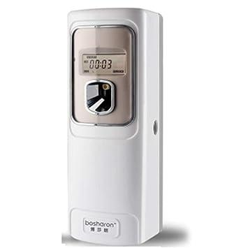 Mr. Fragile LCD Automático Aerosol Dispensador Ambientador De Aire De La Pared del Hogar Hotel Baño WC Perfume Máquina De Aerosol: Amazon.es: Hogar