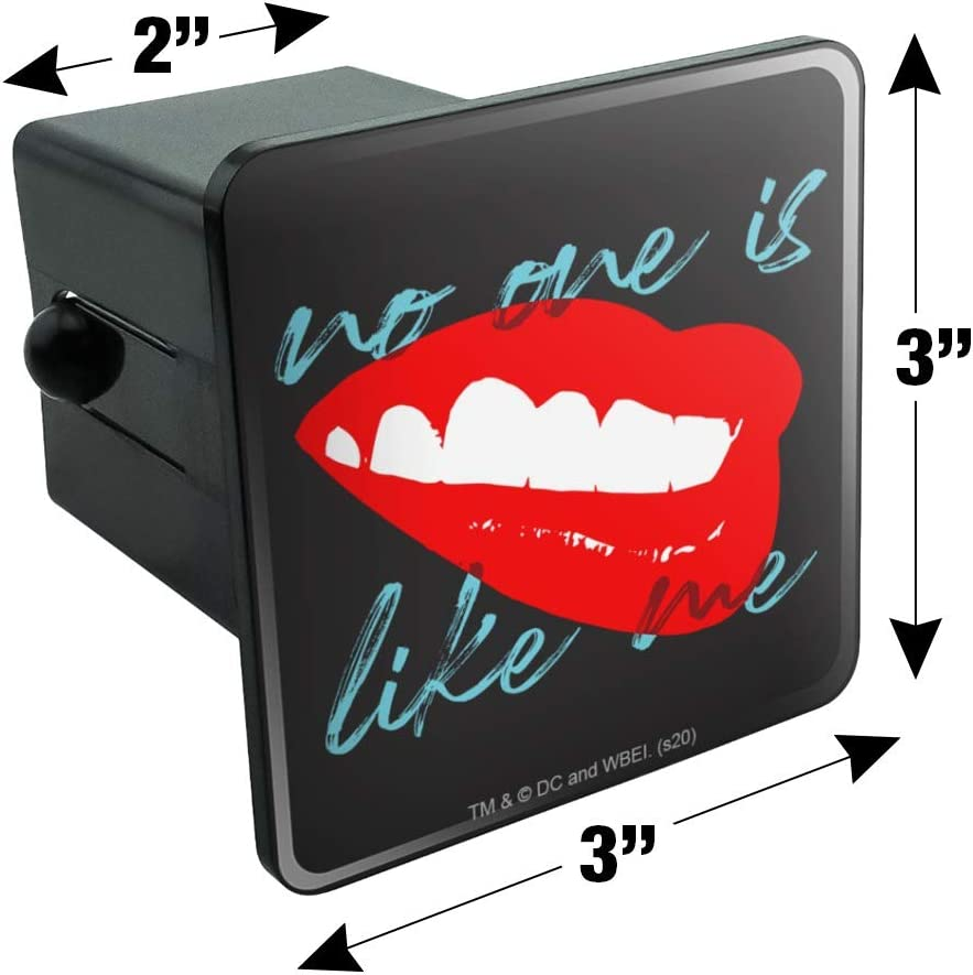 Graphics and More Birds of Prey Harley Quinn No One Like Me Tow Trailer Hitch Cover Plug Insert