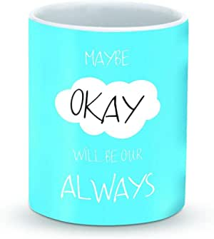 Stylizedd Mug 11oz Ceramic Mug Maybe Okay