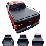 Galaxy Auto Hard Tri-Fold For 2010-17 Dodge Ram 6.4' Bed (Fleetside Models Only)