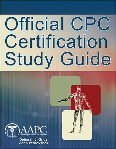 CPC Certification Study Guide: 9781111544843: Medicine & Health ...